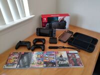 Nintendo Switch Bundle 32GB Console + 8 Games and Extras