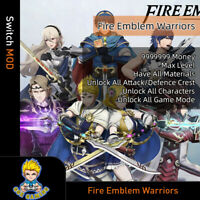 Fire Emblem Warriors(Switch Mod)-Max Money/Level/Materials/Crest/All Characters
