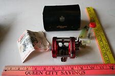 Vintage Red ABU Garcia 5000 Ambassaduer Casting Reel Lure Case - Used