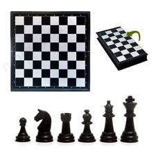Plastic Folding Magnetic Chessboard Competition International Chess Game Toys R