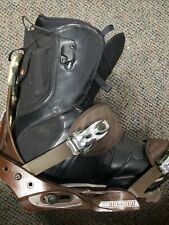 Burton  Ruler Snow board boots  sz 12 US and Burton mission bindings
