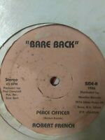 "Robert French-Peace Officer 12"" Vinyl Single 1986 ROOTS REGGAE"
