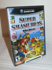 Gamecube SUPER SMASH BROS Melee, Case / Manual / VG TESTED, WORKS (Best Seller)
