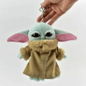 15cm Star Wars Master Baby Yoda Character Keychain Plush Toys For Baby Gift Kids