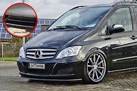 Spoilerschwert Frontspoiler aus ABS Mercedes Viano W639 mit ABE schwarz glänzend