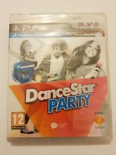 DanceStar PARTY PlayStation 3 ps3 pal España Nuevo y Sellado de Fabrica