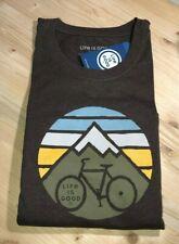 Life Is Good Clean Mountain Biking T-shirt Crusher Xxxl Nwt Long Sleeve Outdoors
