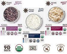 Prime Steamed Organic Rice USDA Organic Non-GMO Gluten Free No Chemical Vegan