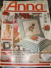 Anna - Burda Ouvrages Manuels N°6 2003 Nappe en dentelle Crochet Point de croix