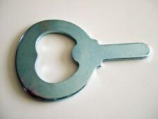 3 x Metallteil Klinge für Flaschenöffner Öffner Kapselheber L 6,9 cm Stahl
