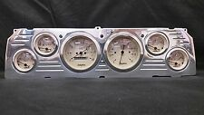 1964 1965 1966 CHEVY TRUCK 6 GAUGE CLUSTER TAN