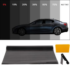 PRO LIMO BLACK 5% CAR WINDOW TINT ROLL 6M x 75CM FILM TINTING PRACTICAL UK TOP