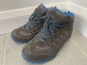 Ladies Hi Tec Penrith Mid WP Womens Lace Up Waterproof Walking Hiking Boots UK 5
