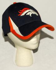 NEW ERA - 39 THIRTY Denver BRONCOS Blue Org Wh BASEBALL CAP / HAT sz S / M 3930