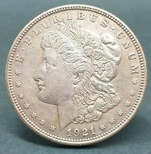 USA 1921 MORGAN ONE DOLLAR SILVER COIN