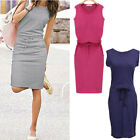 Sleeveless Casual Summer New Cocktail Short Dress Evening Party Fashion Women