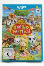 Animal Crossing: amiibo Festival (Nintendo Wii U) Spiel OVP, PAL, CIB, SEHR GUT