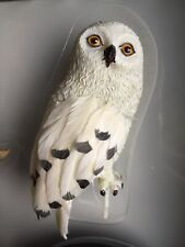 """Tonner Harry Potter Harry's Owl HEDWIG Figurine 3.5"""" Tall w/ Branch + Stand NRFB"""