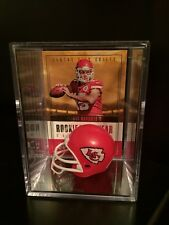 PATRICK MAHOMES 2017 Playoff Rookie Of The Year Contenders RC w/ Shadow box 🔥🔥