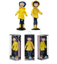 "Coraline Bendy Fashion Doll in Raincoat and Boots Caroline 7"" Replica Figure"