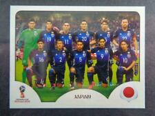 Panini FIFA 2018 World Cup Russia PINK back sticker #641 Japan team