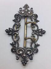 Silver Ornate Belt Buckle Shiebler Antique Victorian Sterling
