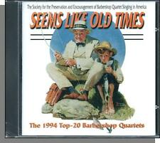 1994 Top 20 Barbershop Quartets (SPEBSQSA) - New 25 Track CD! (Rockwell Cover!)