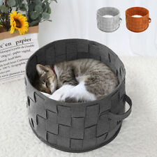 Cat Beds for Indoor Cats Soft Warm Nest House Small Dog Pet Puppy Sleeping Mat