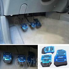 3Pcs Car Universal Aluminum Manual Transmission Non-Slip Car Pedal Cover Set kit