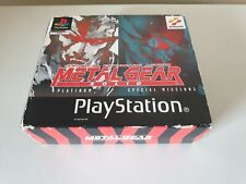 METAL GEAR SOLID & SPECIAL MISSIONS. PS1 DUAL PACK SPECIAL EDITION  (PlayStation