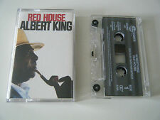 ALBERT KING - RED HOUSE - CASSETTE TAPE - CASTLE (1991)