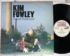 KIM FOWLEY ‎– Sunset Boulevard  LP   Illegal ‎– ILP 002