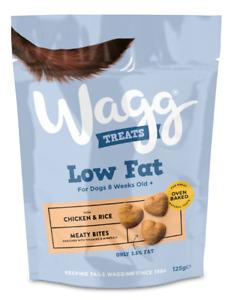 Wagg Low Fat Treats Chicken And Rice Dog Treat Reward