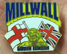 Millwall south london smalto pin badge
