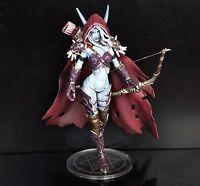 "WOW World of Warcraft Forsaken Queen Sylvanas Windrunner Figure 5""-5.5"" HIGH"