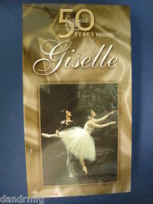 NEW Giselle (VHS, 2001, Ballet) 063634012481 1976 Production