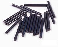 LEGO - 20 x Laserschwert Stab 1x4 schwarz / Black Bar 4L / 30374 NEUWARE