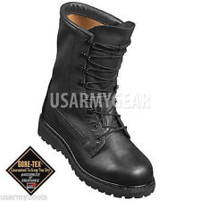 Made in USA Cold Weather ICW Insulated Goretex Bates / Belleville Army BOOTS 12 W Wide (e)