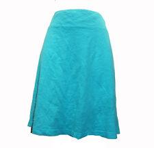 Fresh Produce Turquoise Blue Knit Mini Skirt 1X Knit Waistband New