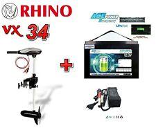👌 Rhino VX34 ECO  + 12V 80Ah Lithium LiFePO4 Akku + 8A Charger