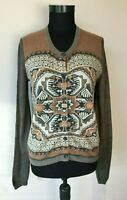 ETRO Damen Strickjacke Gr.IT 42 DE 36/38 kaschmir,wolle ect.