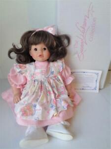 "16"" LITTLE WAKEEN Susan Wakeen Birthday Baby Doll Mint in Box COA Cries Mama"