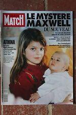Paris Match 2225 Athina Maxwell Géricault Giacometti Rolling Stones Fonda Turner