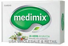 12 twelve Bars 75g Medimix Ayurvedic Soap All Natural 18 Herbs for Acne Pimples