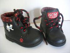 KID NATION DISNEY CLASSIC DOG MOVIE 101 DALMATIONS sz 3W KIDS BLACK / BOOT SHOES