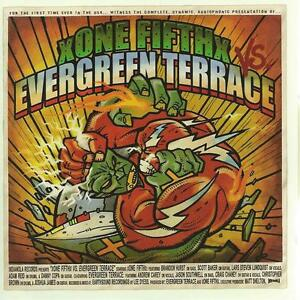 CD album ON FIFTH vs EVERGREEN TERRACE - PUNK xone fifthx