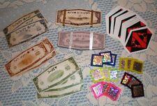 Andromeda Gambling Set Chips Vedran Cards + Currency Original Drom Costume Prop