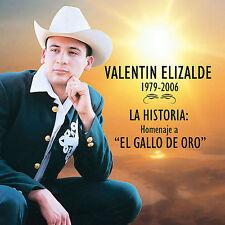 """Historia: Homenaje a """"El Gallo de Oro"""" by Valentín Elizalde (CD)"""