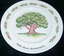 "Fifth Avon Anniversary Commemorative Award Plate - The Great Oak - 8"""