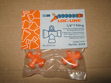 """Loc-Line 1/4"""" Hose 1/4"""" Female to (2) 1/4"""" Male T Fitting 41416 NEW!!!"""